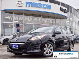 Used 2010 Mazda MAZDA3 GX - One Owner - Power Windows - $70.95 B/W for sale in Maple, ON