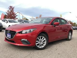 Used 2015 Mazda MAZDA3 GS, Camera, heated seats, Alloys, One Owner for sale in Maple, ON