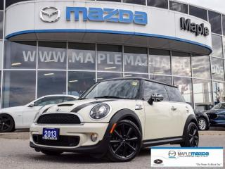 Used 2013 MINI Cooper S, Manual, Clean history for sale in Maple, ON