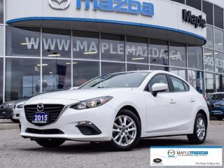 Used 2015 Mazda MAZDA3 GS, Camera, Heated Seats, One Owner for sale in Maple, ON