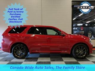Used 2018 Dodge Durango AWD, R/T, Navigation, Sunroof, Leather, Back Up Camera, 5.7L Hemi for sale in Edmonton, AB