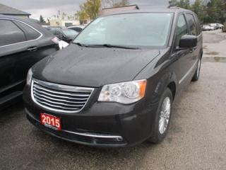 Used 2015 Chrysler Town & Country LOADED TOURING EDITION 7 PASSENGER 3.6L - V6.. CAPTAINS.. STOW-N-GO.. LEATHER.. HEATED SEATS.. BACK-UP CAMERA.. POWER DOORS & WINDOWS.. BLUETOOTH.. for sale in Bradford, ON