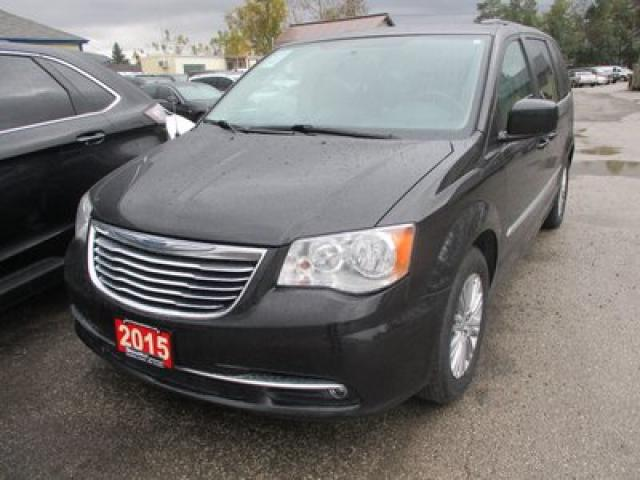 2015 Chrysler Town & Country LOADED TOURING EDITION 7 PASSENGER 3.6L - V6.. CAPTAINS.. STOW-N-GO.. LEATHER.. HEATED SEATS.. BACK-UP CAMERA.. POWER DOORS & WINDOWS.. BLUETOOTH..
