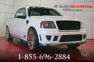 Used 2007 Ford F-150 SALEEN + CUIR + TRÈS RARE !! for sale in St-Basile-le-Grand, QC