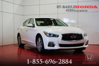 Used 2014 Infiniti Q50 Q50 PREMIUM AWD + NAVI + CUIR PACK + WOW for sale in St-Basile-le-Grand, QC
