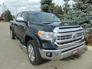 Used 2015 Toyota Tundra Platinum 5.7L V8 for sale in Brampton, ON
