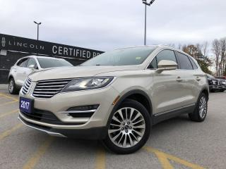 Used 2017 Lincoln MKC Reserve AWD|NAVIGATION|HEATED SEATS|POWER LIFTGATE for sale in Barrie, ON