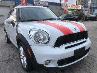 Used 2012 MINI Cooper Countryman S ALL4 w/Navi/Leather/Sunroof/Bluetooth for sale in Oakville, ON