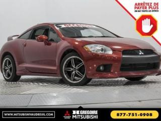 Used 2011 Mitsubishi Eclipse GT-P MAN A/C CUIR for sale in Vaudreuil-Dorion, QC