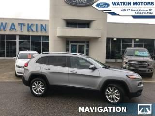 Used 2016 Jeep Cherokee 4X4 V6 for sale in Vernon, BC