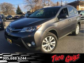 Used 2013 Toyota RAV4 Limited  - Sunroof -  Heated Seats for sale in St Catharines, ON
