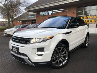 Used 2013 Land Rover Range Rover Evoque Land Rover Evoque Dynamic Navi M V Cam Meridian S* for sale in Concord, ON