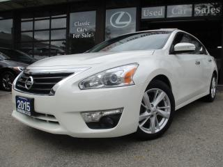 Used 2015 Nissan Altima 2.5 SL-LUXURY-LOADED for sale in Scarborough, ON