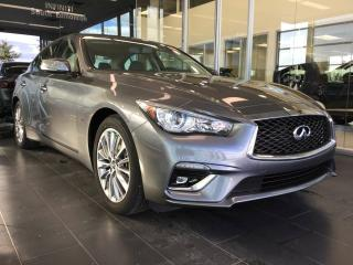New 2019 Infiniti Q50 LUXE W/ ESSENTIALS PACKAGE for sale in Edmonton, AB