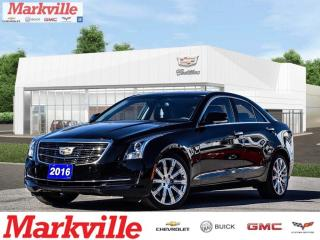 Used 2016 Cadillac ATS LUXURY-AWD-LTHR-RF-GM CERTIFIED PRE-OWNED-1 OWNER for sale in Markham, ON