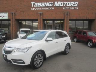Used 2014 Acura MDX TECH |NAVIGATION | LEATHER | SUNROOF | BLIND SPOT for sale in Mississauga, ON