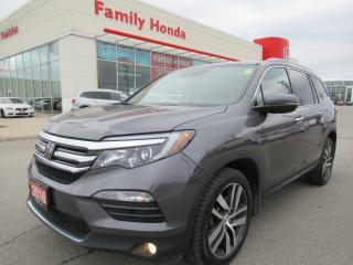 Used 2016 Honda Pilot Touring, FULLY LOADED!! for sale in Brampton, ON