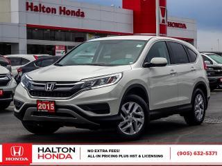 Used 2015 Honda CR-V SE|SERVICE HISTORY ON FILE|ACCIDENT FREE for sale in Burlington, ON