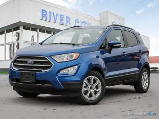 New 2018 Ford EcoSport SE for sale in Winnipeg, MB