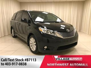 Used 2017 Toyota Sienna XLE AWD 7-Pass for sale in Calgary, AB