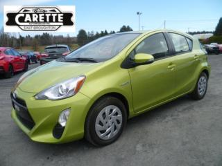 Used 2016 Toyota Prius C gr.ameliore hybrid for sale in East broughton, QC