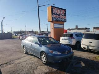 Used 2002 Toyota Camry LE**GREAT CONDITION**166 KMS**CERTIFIED for sale in London, ON
