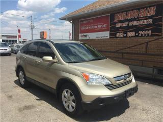 Used 2008 Honda CR-V EX-L***SUNROOF***LEATHER***ONLY 148 KMS**** for sale in London, ON