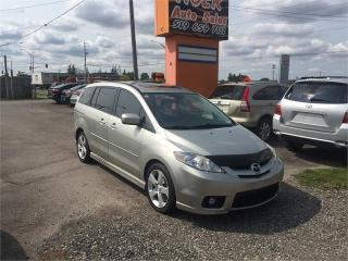 Used 2007 Mazda MAZDA5 GT***4 Cylinder**LEATHER**DVD****ONLY 138 KMS for sale in London, ON