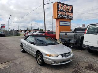 Used 2000 Chrysler Sebring JXI****CONVERTIBLE**ONLY 147KMS**AS IS for sale in London, ON