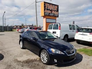 Used 2009 Lexus IS 250 **ONLY 145 KMS**VERY CLEAN**6 SPEED MANUAL***** for sale in London, ON