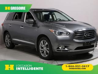 Used 2015 Infiniti QX60 AWD 7PASSAGERS DVD for sale in St-Léonard, QC