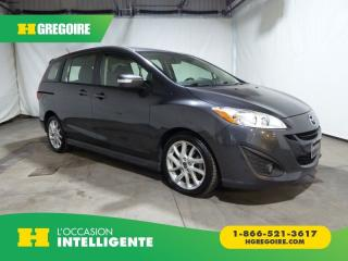 Used 2017 Mazda MAZDA5 GT CUIR TOIT for sale in St-Léonard, QC