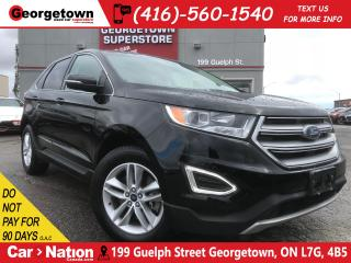 Used 2017 Ford Edge SEL | AWD | BU CAM | HTD SEATS | PUSH START for sale in Georgetown, ON