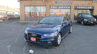 Used 2015 Audi A4 2.0T Technik S-Line/B UP CAM/REAR SENSORS/NAVI for sale in North York, ON