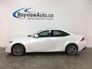 Used 2015 Lexus IS 250 - HTD/COOLED LTHR! SUNROOF! REVERSE CAM! PADDLE SHIFTERS! for sale in Belleville, ON