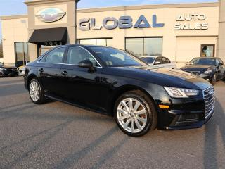 Used 2018 Audi A4 2.0T Komfort quattro LEATHER SUNROOF ONLY 9.000 KM. for sale in Ottawa, ON