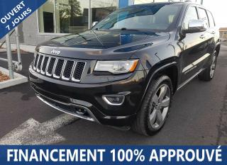 Used 2014 Jeep Grand Cherokee Overland for sale in Longueuil, QC