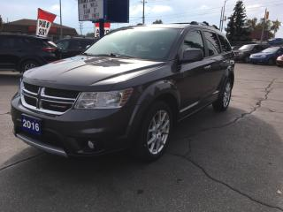 Used 2016 Dodge Journey R/T seats 7!!! for sale in Brantford, ON