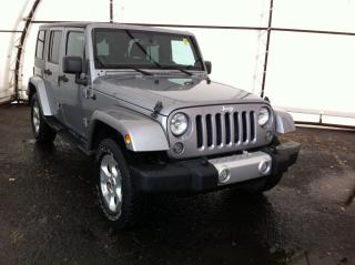 Used 2014 Jeep Wrangler Unlimited Sahara NAVIGATION, 6.5 TOUCH SCREEN, 18