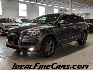 Used 2015 Audi Q7 SLINE/LANEKEEPASSIST/SHADES/PANO/7PASS! for sale in Toronto, ON