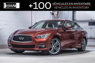 Used 2015 Infiniti Q50 3.7 Ltd Awd for sale in Montréal, QC