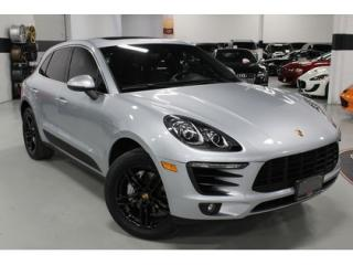 Used 2016 Porsche Macan S   1-OWNER   PORSCHE WARRANTY for sale in Vaughan, ON