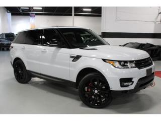 Used 2015 Land Rover Range Rover Sport V8 Supercharged   DYNAMIC Package   Warranty for sale in Vaughan, ON