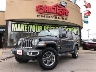 Used 2018 Jeep Wrangler Sahara 4 DOOR NAVI JL LED'S LEATHER for sale in Toronto, ON