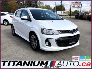 Used 2018 Chevrolet Sonic LT-RS-Camera-Sunroof-Apple Play-Heated Power Seats for sale in London, ON