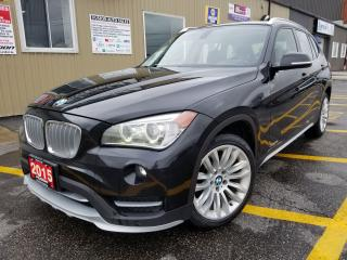 Used 2015 BMW X1 NO TAX SALE 1 WEEK ONLxDrive28i- Panoramic Sunroof for sale in Tilbury, ON