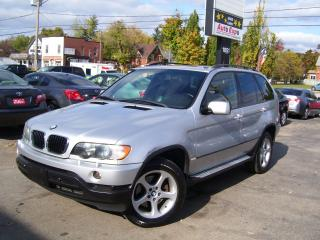 Used 2002 BMW X5 3.0i,LEATHER,SUNROOF,ALLOYS,NEW TIRES & BRAKES for sale in Kitchener, ON