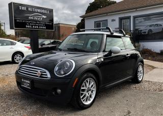 Used 2010 MINI Cooper CAMDEN PANO ROOF MANUAL NO ACCIDENT for sale in Mississauga, ON