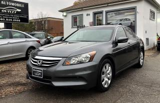 Used 2012 Honda Accord EX-L LEATHER SUNROOF for sale in Mississauga, ON
