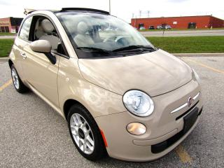 Used 2012 Fiat 500 500c Pop - Convertible for sale in Woodbridge, ON